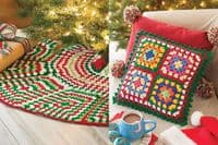 A Granny Square Christmas Annies Crochet Book 871610 DISCONTINUED